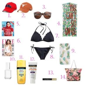Beach Vacay Essentials