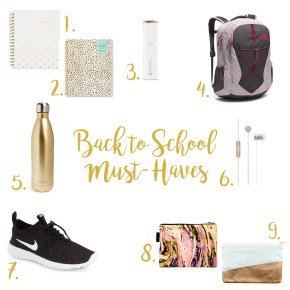 Back to SchoolMust-Haves
